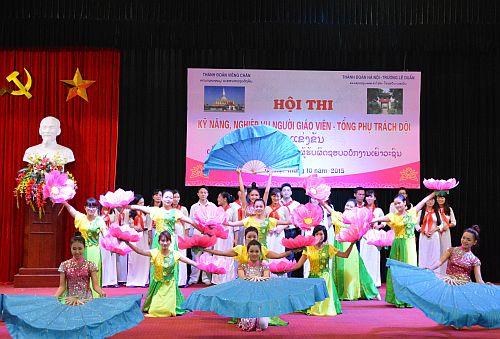 Lớp PTTN Thành đoàn Viêng-Chăn, Lào khóa 07