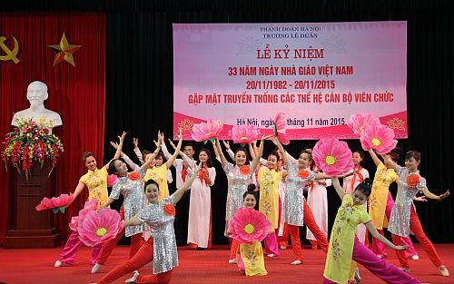 Kỉ niệm 33 năm ngày Nhà giáo Việt Nam 2015